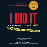 If I Did It - The Goldman Family, Pablo F. Fenjves
