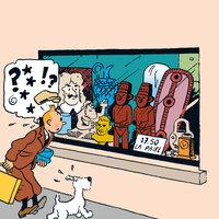 Det sönderslagna örat - Hergé