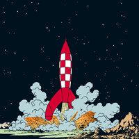 Månen tur och retur - Hergé