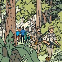 Tintin hos gerillan - Hergé