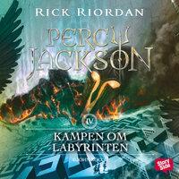 Ljudbok Kampen om Labyrinten av Rick Riordan