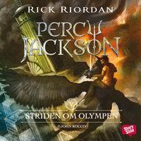 Ljudbok Striden om Olympen av Rick Riordan