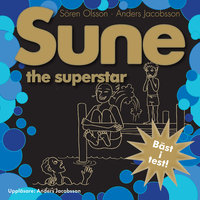 Ljudbok Sune : the superstar av Anders Jacobsson