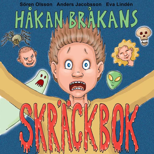 Ljudbok Håkan Bråkans skräckbok av Anders Jacobsson