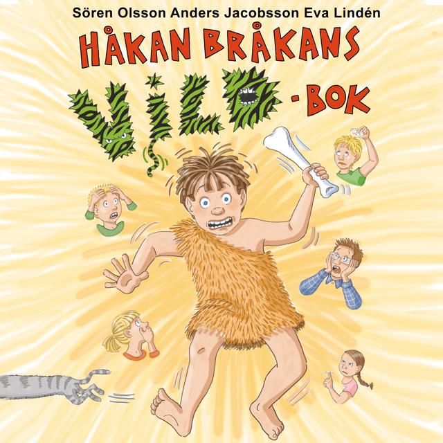 Ljudbok Håkan Bråkans vildbok av Anders Jacobsson